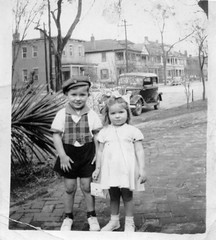 Mom & Uncle Jack, Augusta, Georgia, circa late 1930s, early 1940s, photo © 2008 by QuoinMonkey. All rights reserved.