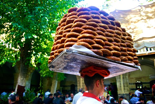 piles of bread in Turkey. From Expert Shares Tips on Traveling to Turkey