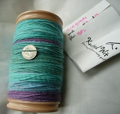 4oz BFL - Knitted Wit