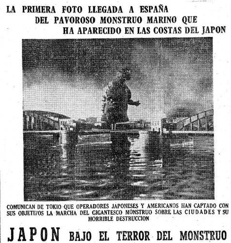 1956: Godzilla llega a España 1