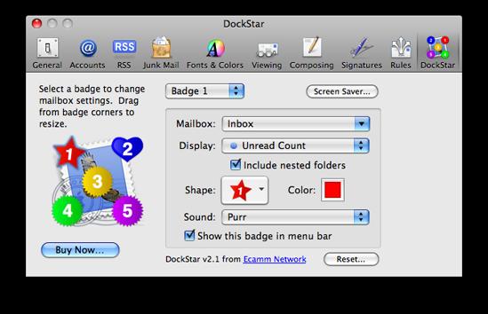 Mail Plugin: DockStar