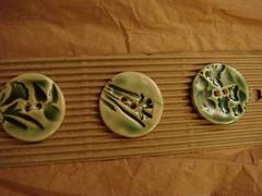 buttons green