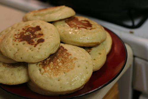Making Crumpets