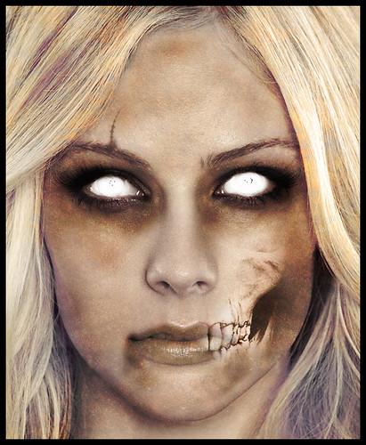 Zombie : Avril Lavigne by Snip3r_X.