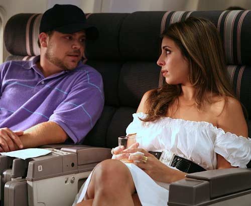 Turtle joins the Mile High Club on Entourage, ...
