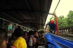 River Taxi Along Khlong Saen Saep, Bangkok