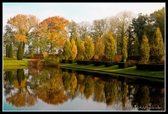 Reflections (DutcHHighlandeR) Tags: park autumn holland fall nature netherlands beautiful canon reflections garden landscape landscapes bravo quality herfst nederland netherland mooi tuin groningen leafs soe hst landschap mustsee borgen leens landgoed supershot 10faves verhildersum demarne 40d aplusphoto flickrelite colourartaward hethogeland theperfectphotographer top20autumn flickrestrellas unlimitedphotos qualitypixels flickrlovers 100commentgroup dutchhighlander