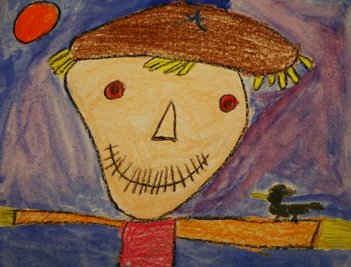 Zach's scarecrow
