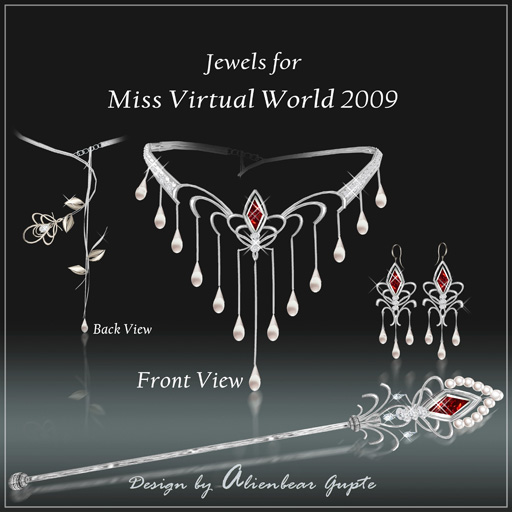 Miss Virtual World jewels