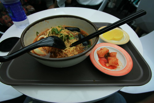 Ramen at Icheon Airport, Seoul