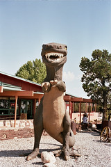 Dinosaure del Grand Canyon Caverns & Inn