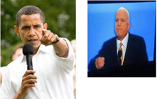 Obama McCain Fight