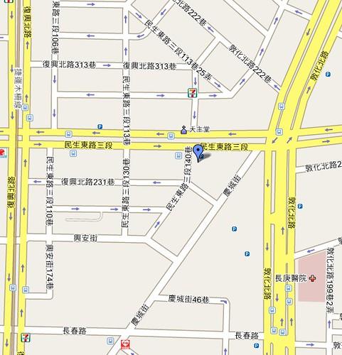 果子咖啡店面地圖