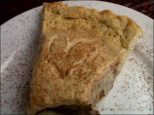 pie mocha heart