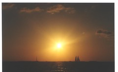 Sailboat sunset in Key West, Florida (SnapShotStar) Tags: ocean pink blue sunset sky orange beach clouds sailboat hawaii florida horizon maui palmtrees keywest sunsetpictures orangeskies nowthatssky sunseaandsand 10millionphotos exquisitesunsets