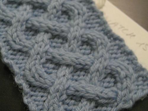 Master Knitting Level 1 Swatch 15