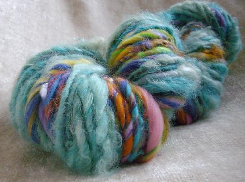 mystery - handspun yarn