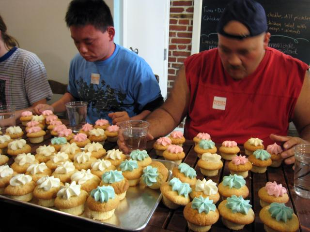 Cupcake eating contest