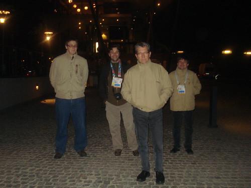 21:15 h, sortida del CongressZentrum
