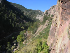 Eldorado Canyon from Top of Whale's Tail