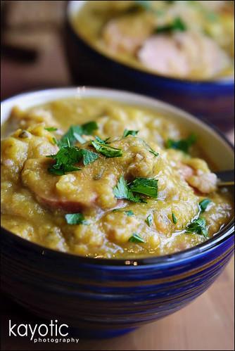 Dutch Split Pea Soup « Kayotic Kitchen