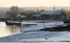 Faversham Creek, Oare KWT (Jim_Higham) Tags: uk winter england church nature europe wildlife reserve eu faversham oare kwt kentwildlifetrust