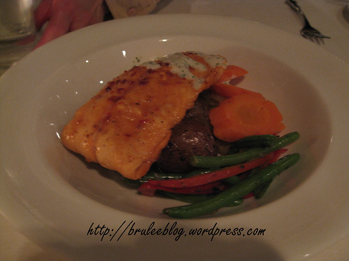 Chili-maple glazed filet of salmon