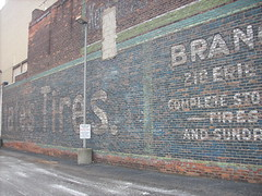 cool ghost sign, downtown Toledo (katherine of chicago) Tags: signs toledo palimpsest ghostsigns