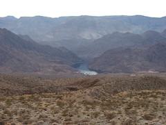 Colorado River near the Hoover Dam