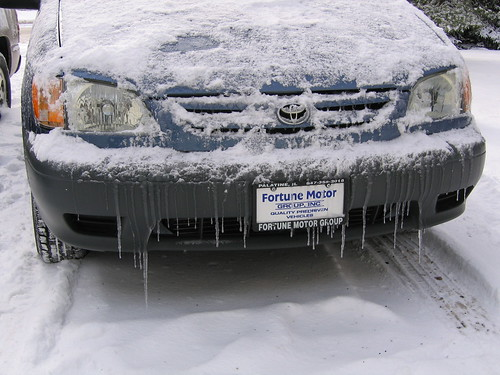 Car Icicles