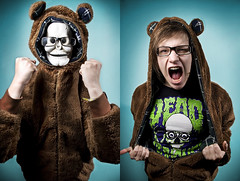 I Am Bear: inspired by Dead Serious Clothing - Revenge of the Bear (Lode Schildermans) Tags: