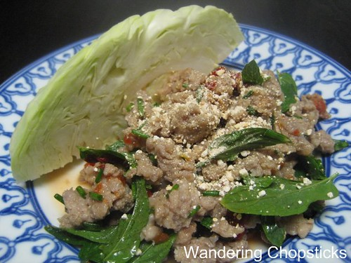 Larb (Lao Thai Ground Meat Salad) 3