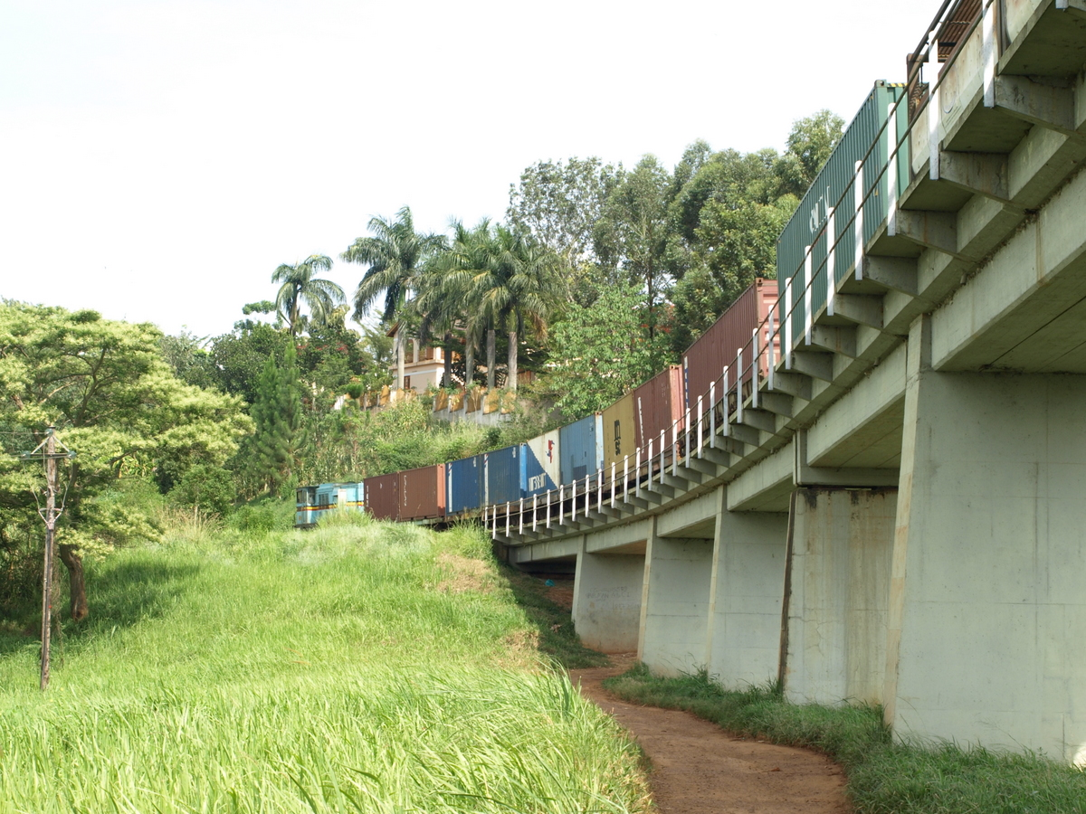 Freight train of Rift Vally Railway