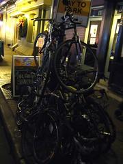 8x10 bike pile