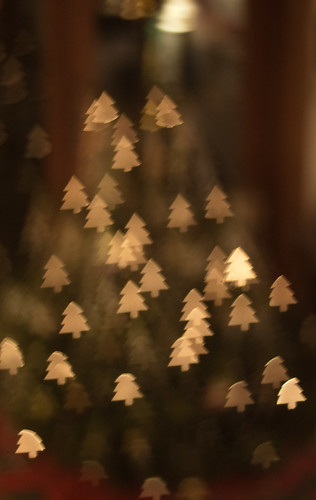 Happy Bokeh Christmas Tree