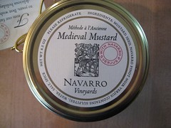 Medieval Mustard, Navarro Vineyards