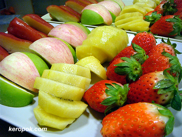 Fresh Fruits after dinner