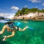Snorkeler - Koh Lipe, Thailand