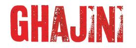 Ghajini Logo