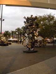 Statue Near Hyatt