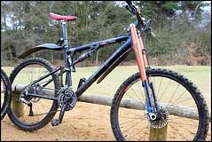 Litespeed Niota (LordOnOne) Tags: mountain tower bike bicycle cycling hill surrey cycle mtb leith maverick litespeed niota