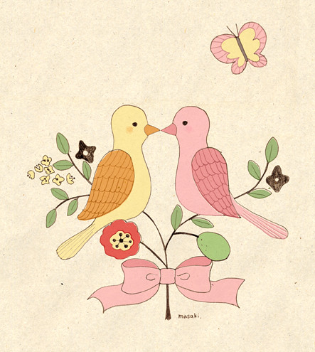 kissing bird1