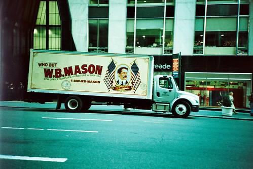 who but W.B. Mason?