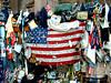 World Trade Center, post 9/11 (PJSherris) Tags: world church monument memorial unitedstates flag worldtradecenter olympus center flags historic historical trade memorials olympusc4040z c4040z