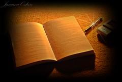 Best Friend Adviser ... (♫ Photography Janaina Oshiro ♫) Tags: digital pen book celular livros efeitos literatura coresquentes nikond80 goldstaraward