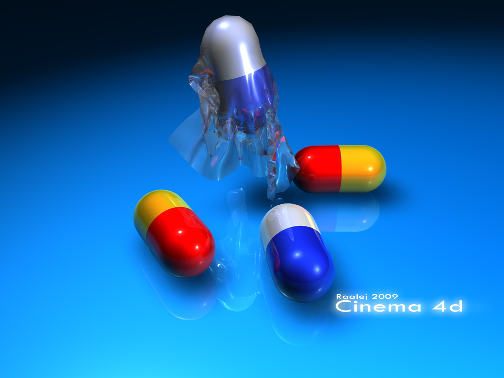 1er render con cinema 4d