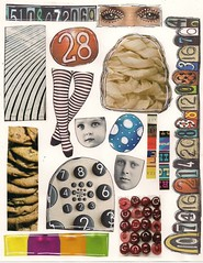 Zetti collage sheet