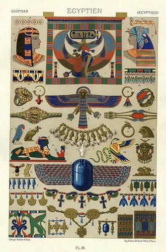 003-Ornamentos policromados egipcios2-Das polychrome Ornament…1875