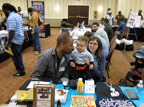 Family cartooning convention