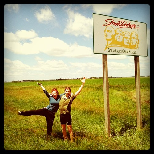 We're in south dakota!!!!!!